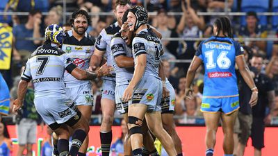 Youthful North Queensland Cowboys score NRL win over Gold Coast Titans
