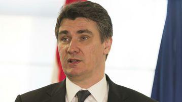 Croatian Prime Minister Zoran Milanović (AAP)
