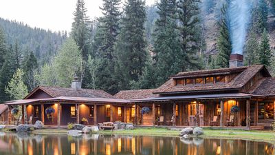 The luxe lodge specialising in adult summer camps