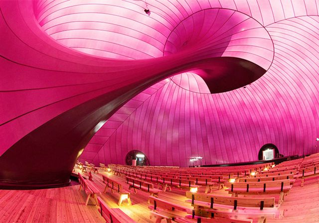 3. Inflatable concert hall
