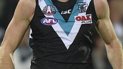 Port Adelaide Power investigate player for alleged incident at Adelaide bar