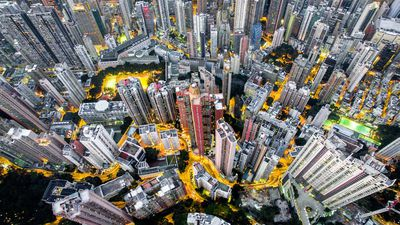 Photographer's unreal snaps capture the density of Hong Kong from above