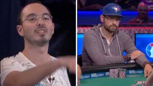 Cocky poker player gets instant karma
