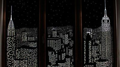 Blackout curtains will transport you to another place