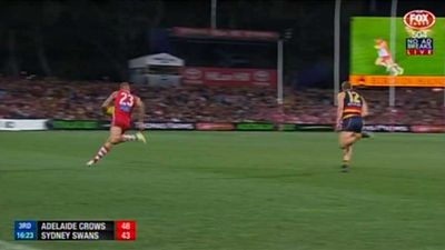 Sydney Swans' Lance Buddy Franklin's goal of the year contender shouldn't have been allowed says AFL