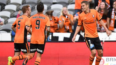 Aloisi likes Roar reaction in Mariners win