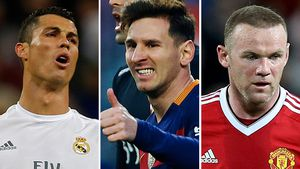 The world's most obscenely paid footballers
