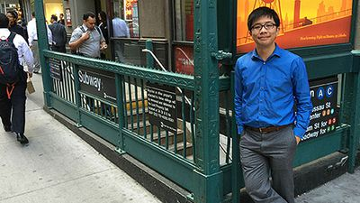 Public transport lover visits every New York Subway station in world-record time