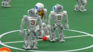 US team beats Aussies in robo soccer