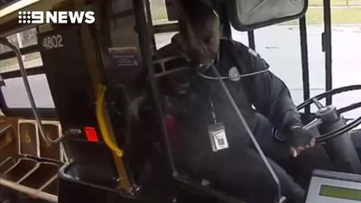 Hero bus driver helps lost toddler find his way home