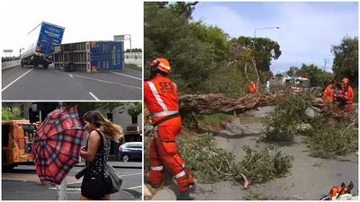 Damaging winds lash Victoria