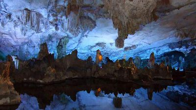 China's Reed Flute Cave has to be seen to be believed