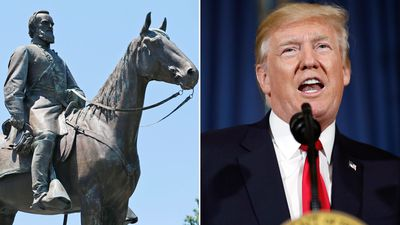 Trump says history is being 'ripped apart' by removal of statues