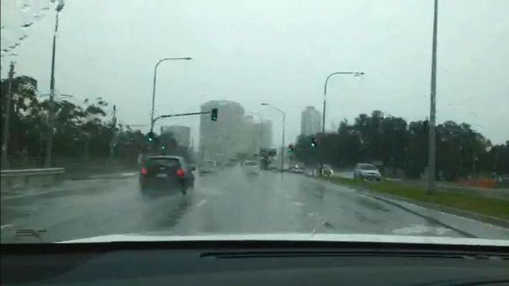 Heavy rainfall could produce flash flooding. (9NEWS)