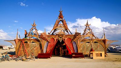 Burning Man's incredible temporary architecture on display