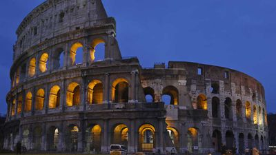 History's dark side: Now you can experience the Colosseum at night