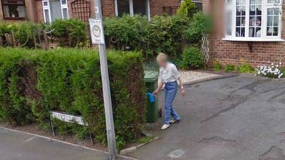 Woman gets 'surprise' when she spots late mum watering the garden