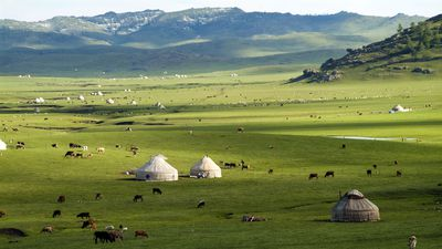 Enterprising Mongolian farmers are renting their humble yurts on Airbnb