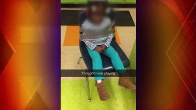 Girl, 4, 'duct taped to chair' at daycare centre