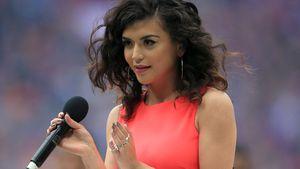 Singer makes hash of England anthem