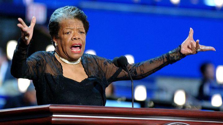 Late activist Maya Angelou. (AAP)
