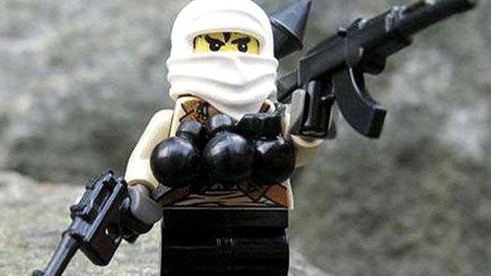 US manufacturer  BrickArms has produced Usama bin Laden