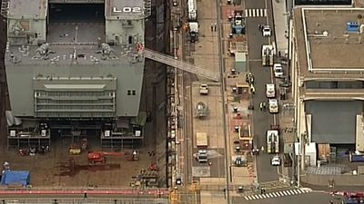 Hazmat incident at Navy ship sees two people hospitalised