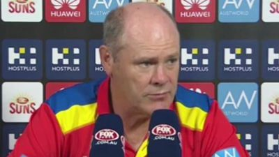 Pressure Increases On Eade As Gold Coast Suns' Woes Continue