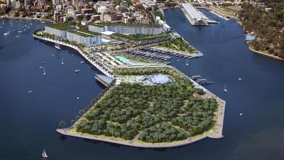 Sydney Harbour's lush new cruise terminal plans revealed