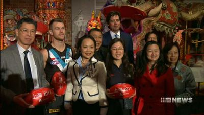 Port, Suns to play AFL in China in mid-May