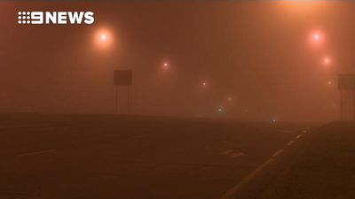 Sydney suburbs blanketed by thick fog