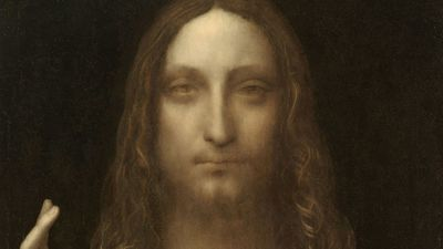 The glass orb in this Da Vinci painting has art buffs scratching their heads