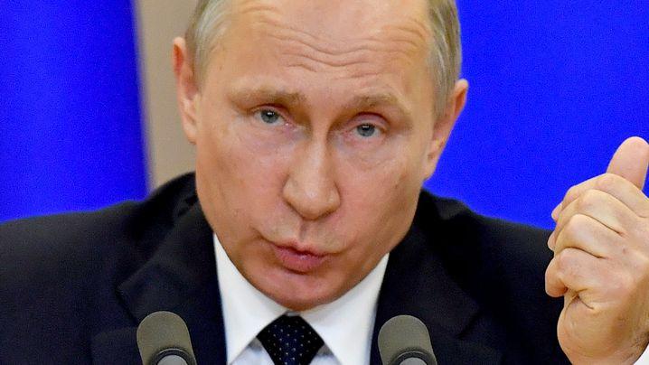 Russian President Vladimir Putin. (AAP)