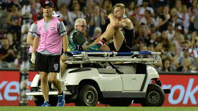 AFL star Riewoldt cleared of ACL injury