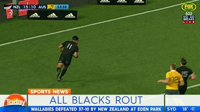 All Blacks defeat Wallabies 37-10