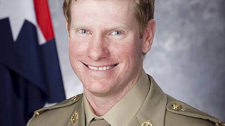 Corporal Daniel Keighran (AAP)