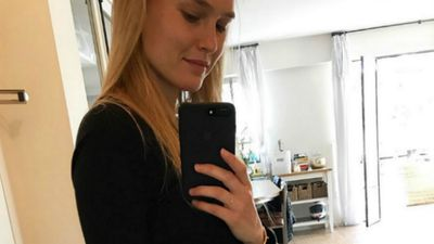 Bar Refaeli is pregnant with her second child: See her adorable baby bump!