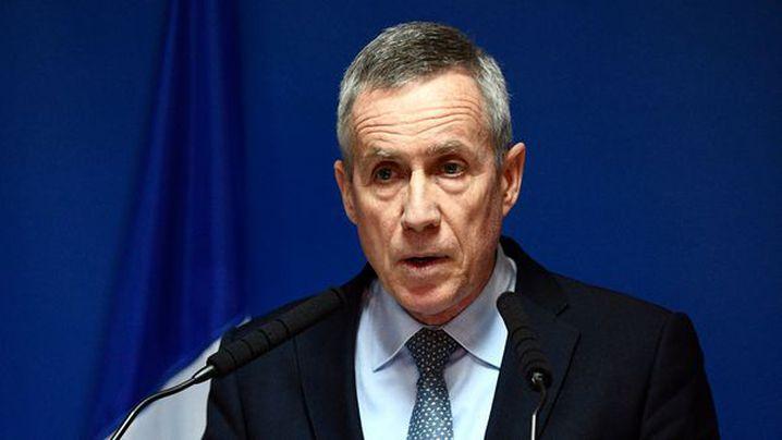 Paris prosecutor Francois Molins gives a press conference on April 18, 2017 in Paris, France. (AFP)