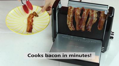 Someone's invented a toaster just for bacon, and we're very okay with that