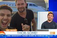 The secret to Chris Hemsworth's body