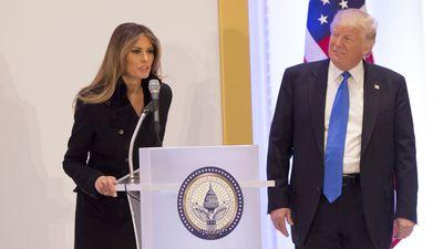 Melania Trump makes rare speech at Washington dinner