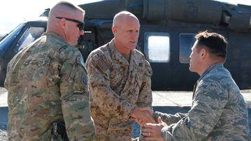 Robert Harward in Afghanistan.