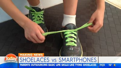 'Kids are better with smartphones than shoelaces, and I'm okay with that'