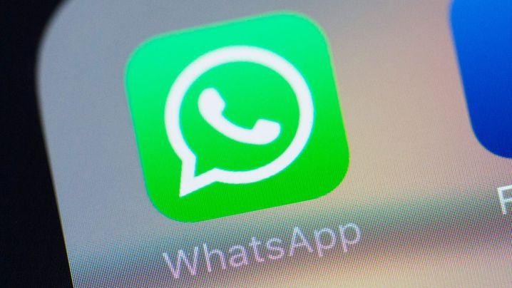 The Whatsapp logo. (AFP)
