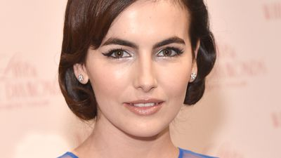 Camilla Belle channels the glamour of Elizabeth Taylor