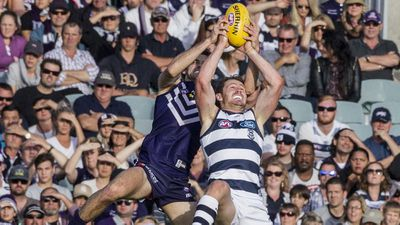 Patrick Dangerfield stars as Geelong Cats thrash Fremantle Dockers
