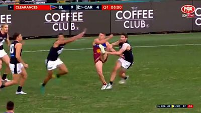 Nervy Brisbane Lions beat Carlton Blues by 30 points in AFL at the Gabba