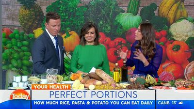 TV dietitian drops pasta portion bombshell on Today