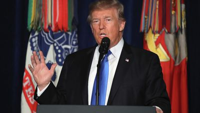 Trump announces Afghanistan troop surge