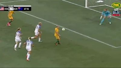 Matildas beat USA to be top of soccer world